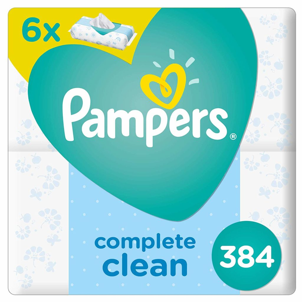 Top Baby Product Brands - Pampers wipes